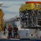 Mise à l'eau du robot Le Victor © MNHN / IFREMER