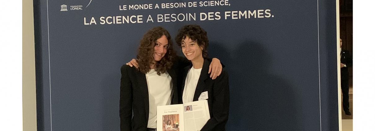 Lia Siegelman ceremony at UNESCO